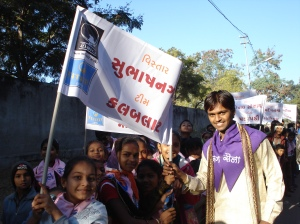 Balsena and Tarunsena members march for child rights!